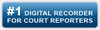 Worlds #1 Digital recorder for court reporter