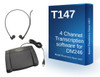 4 track transcription software kit