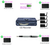 CD Wireless Meeting/Conference Recorder + 4 Wireless Microphones system Worlds Only Exclusive made for meeting recording