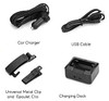 Accessories for the body police worn camera