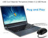 USB Mouse court reporter microphone exclusvie