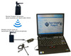 1 Wireless microphone and 1 wired microphone court reporter system exclusive