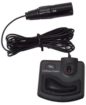 Conference Grabber microphone with xlr balanced plug