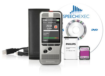 Philips DPM 6000 dictation recorder package