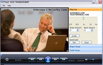 Video Transcription software information