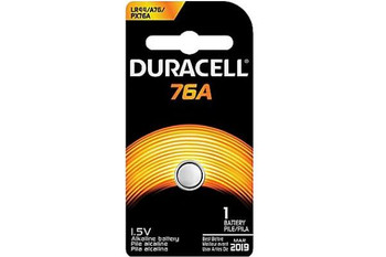 Court Reporter Microphone battery Duracell PX76A 12 pack