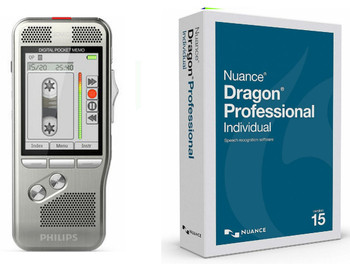 Lawyers legal Dictation recorder and Dragon voice recognition solution