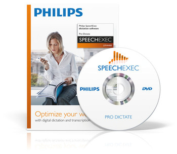 Philips dictation downloading software system