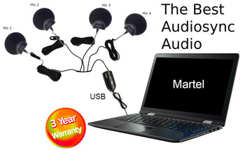 Ultimate Court Reporter USB 4 Microphone package Exclusive
