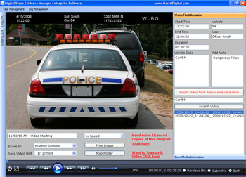 Police In-Car Camera Systems made for Law Enforcement | Martel
