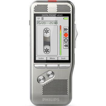 Looks and feels just like a dictation micro cassette tape recorder but its a digital dictation machine