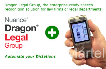 Nuance Legal Package: Dragon Legal Group 15 Pro + Lawyer Dictation Recorder Bundle
