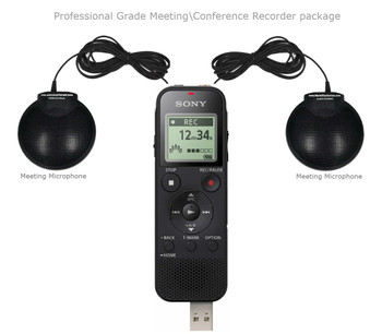 Simple meeting recording system Professional Grade