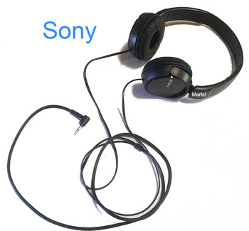 Sony Noise-Canceling Court Reporter Zoom Headphones