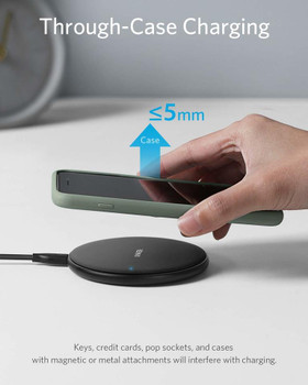 Wireless Phone Charger for Court Reporters using Zoom Kit