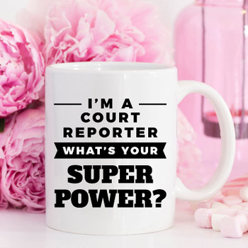 court reporter gift accessory