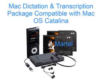 Mac Dictation & Transcription Kit Compatible with OS Catalina Exclusive