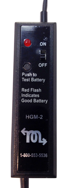 Court Reporter Microphone with battery tester for Computers and Steno writers