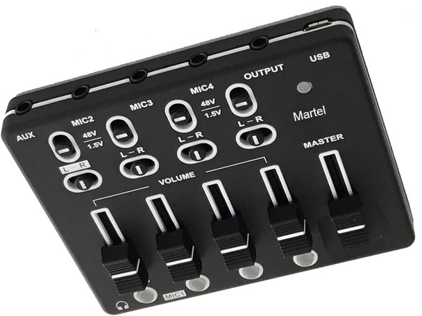 Court Reporter USB Microphone Mixer