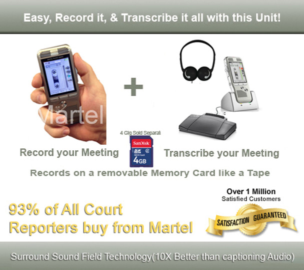 The Worlds only Court Reporter Digital Recorder