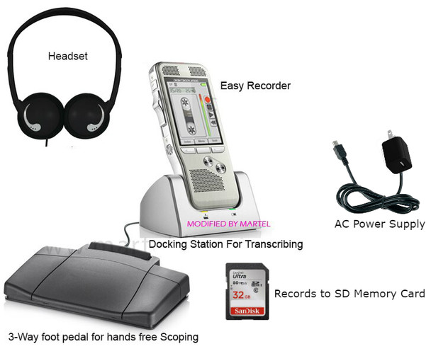 Back up audio recorder for all court reporters