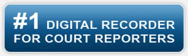#1 digital voice recorder for Court Reporters