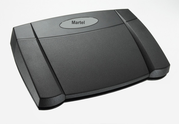 3 way Transcriber foot pedal for city clerk meeting recorder solution