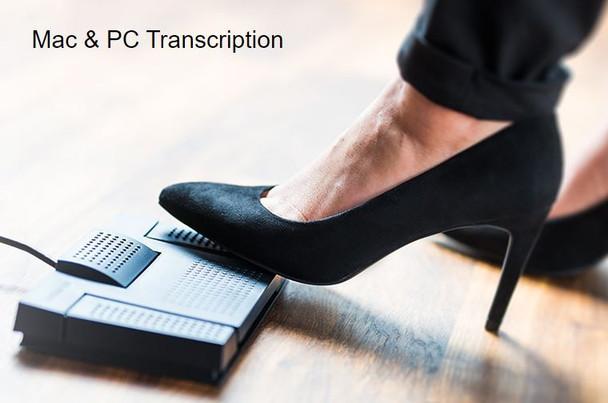 Mac & Windows transcription software kit