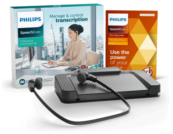 transcription kit is a digital document creation solution specifically designed to make transcription easy and intuitive.
