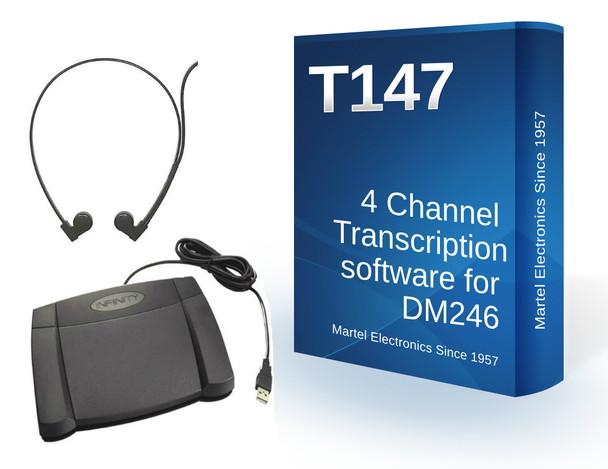 4 track transcription software