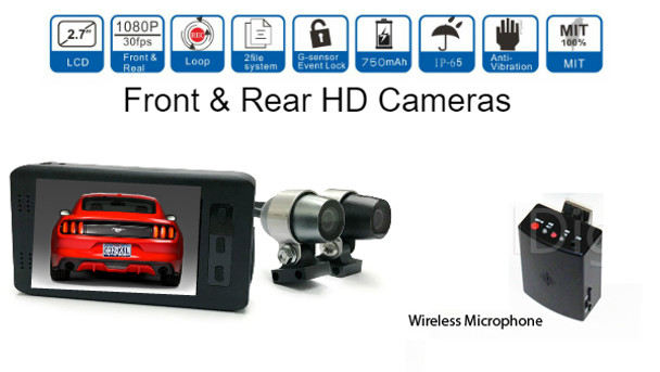 Police\Security Motorcycle Moto DVR camera system