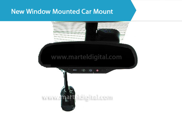 Police Body Camera windshield mount