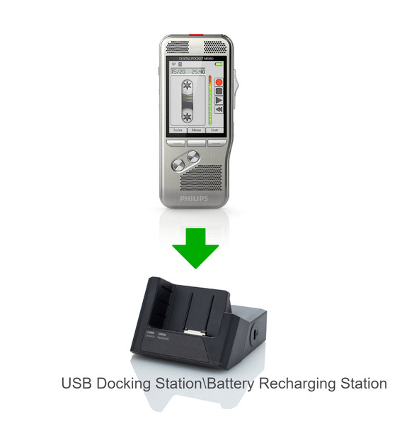 Lawyers Dictation Recorders docking station charger base machine