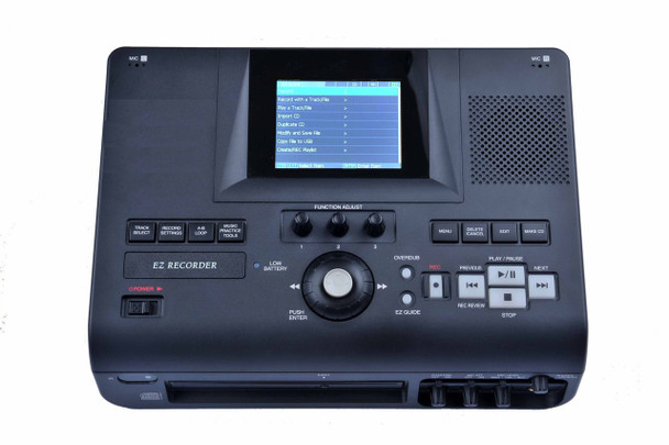Top controls for the meeting cd recorder