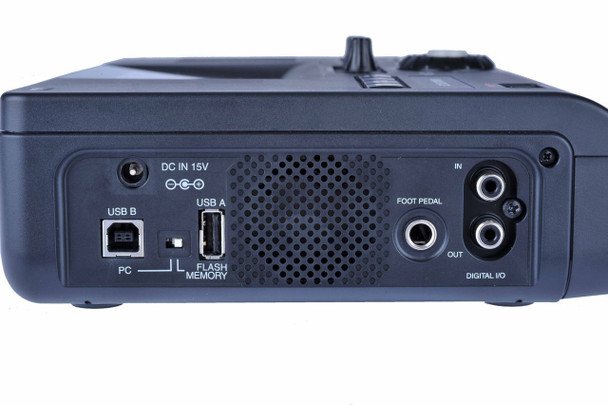 Side of the CD recorder package