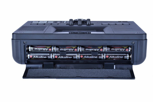 Battery compartment of cd recorder for meeting and conferences