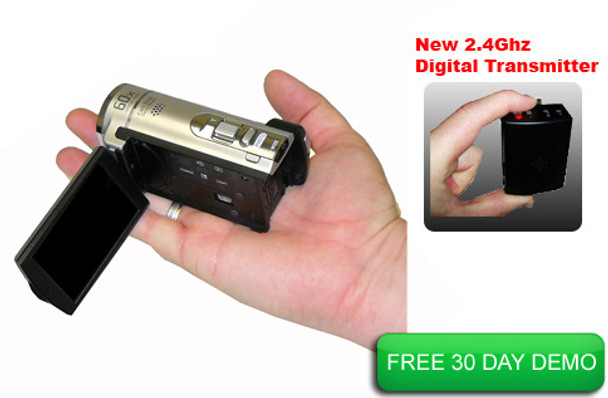 police dash cam fits in the palm of the officers hand and can be used outside the police car