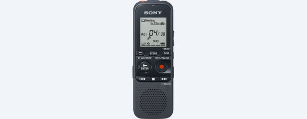 court reporter digital voice Sony recorder