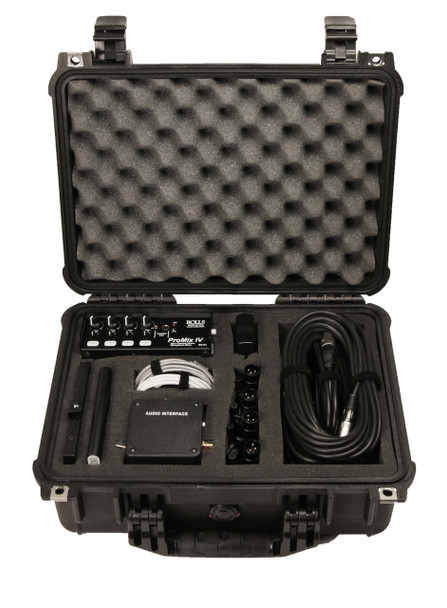 City Clerk Video Camera recording system with external conference microphones package