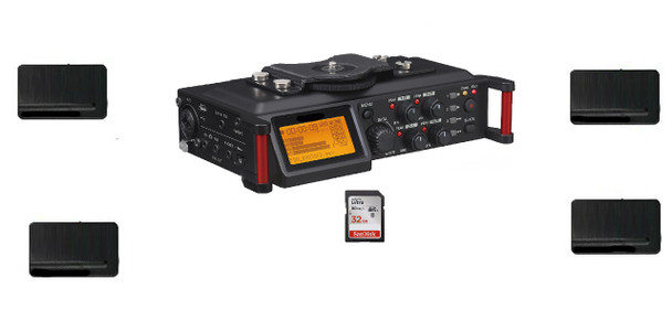 Wireless Courtroom Recorder