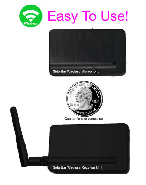 Court reporting equipment wireless microphone specially designed for court reporters