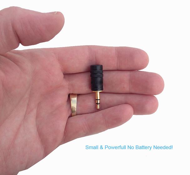 Worlds Smallest & Powerful Steno machine microphone