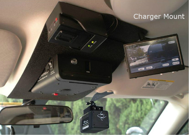 Charger 2009 police car mount with police car camera system MDE2