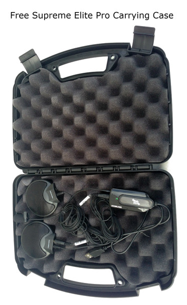Supreme Elite Court Reporter 3 microphone package protected Elegant Hard shell Case