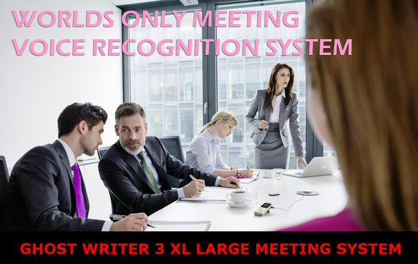 Ghost Writer 3 XL Multi-Voice recognition automatic voice to text system