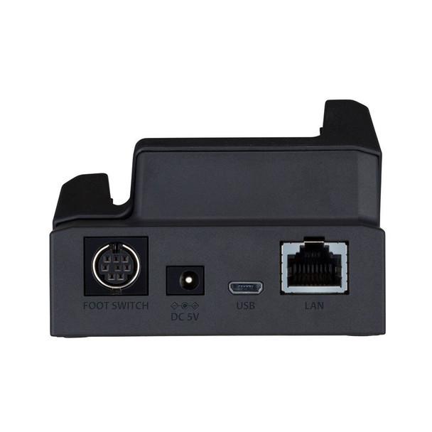 backside of Olympus DS9500 cradle