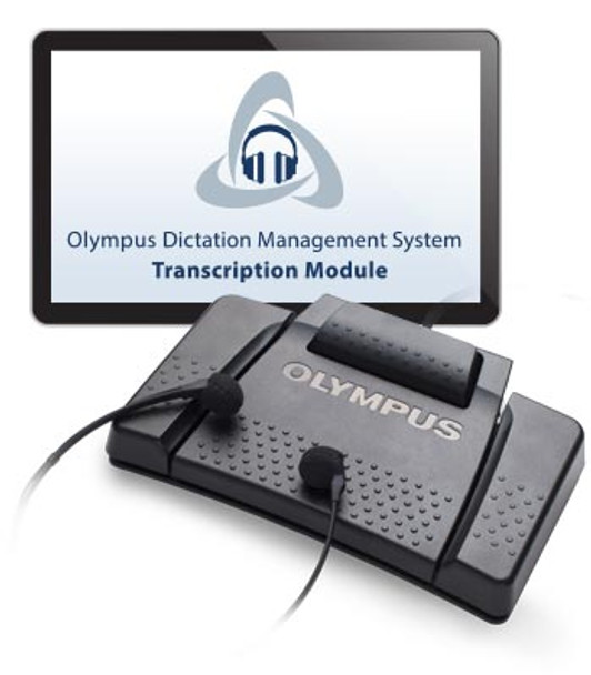 Olympus AS-9000 transcription kit is backward compatible  with Olympus - Philips digital dictation recorders and seamlessly integrates with  speech recognition software like Dragon Nuance.