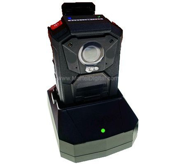 Police body camera with cradle
