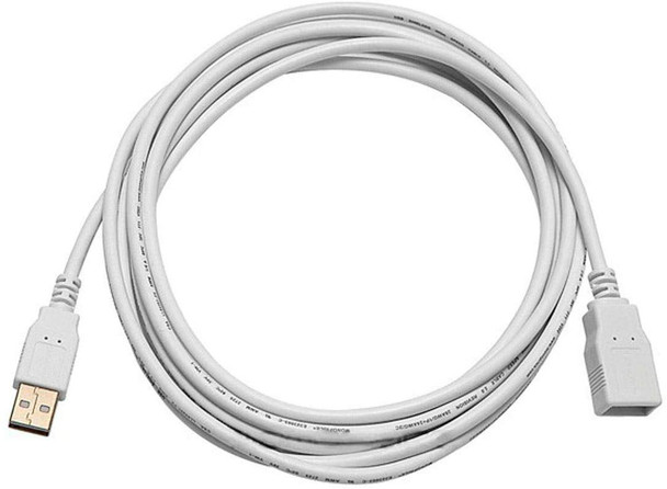 10 FOOT USB EXTENSION CABLE FOR USB COURT REPORTER MICROPHONES