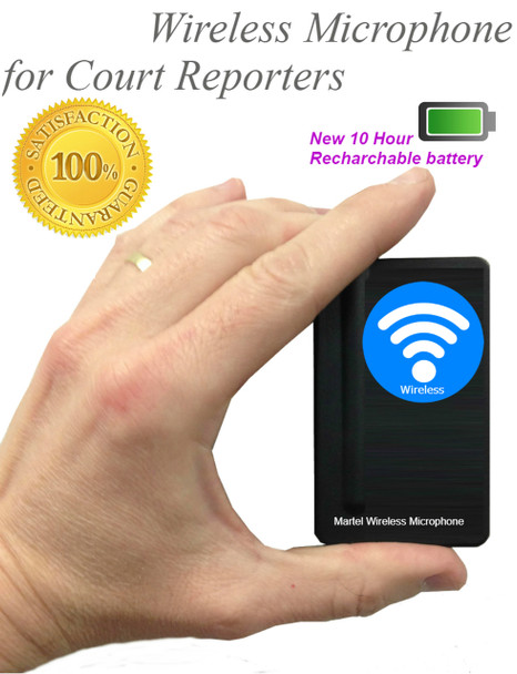 Exclusive Court Reporter wireless microphone